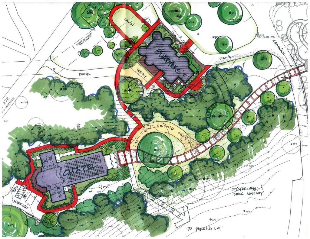 Qtrs-F-Chapel-Conceptual-Landscape-Plan